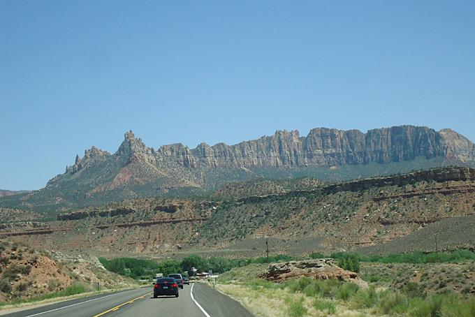Auf dem Weg von Arizona nach Utah