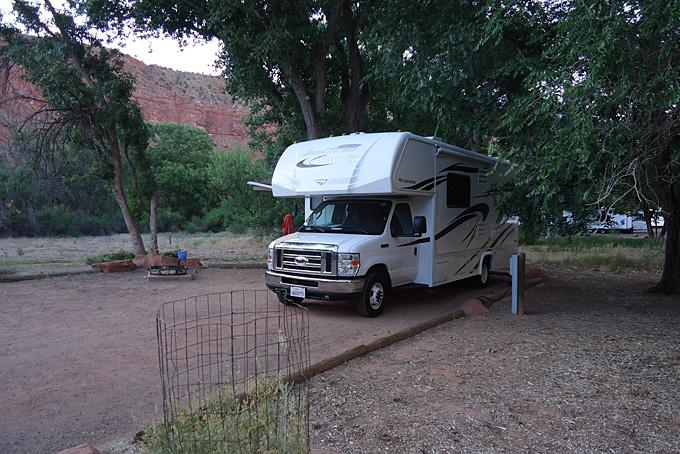 Unser Campground im Zion NP