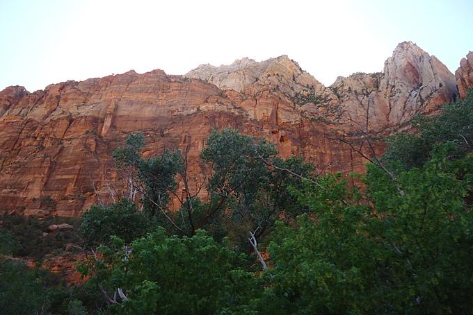 Gebirge im Zion NP