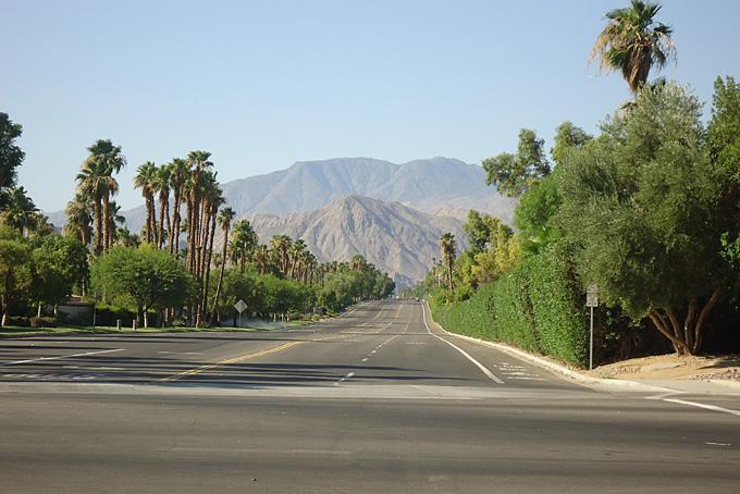 Unterwegs nach Palm Springs