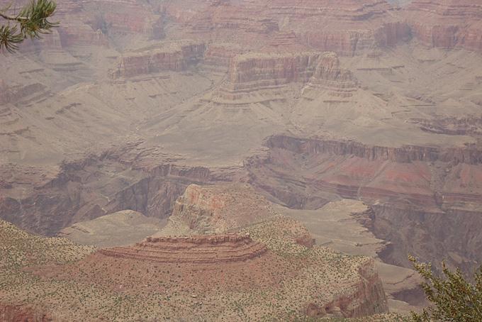 Aussicht vom Grand Canyon Nationalpark
