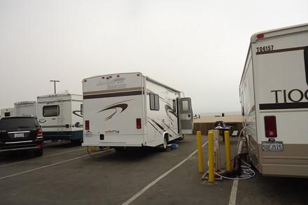 Standplatz beim Dockweiler RV Campground