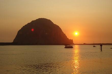 Der Morro Rock in der Morro Bay