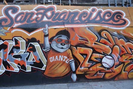 Graffitti San Francisco Giants
