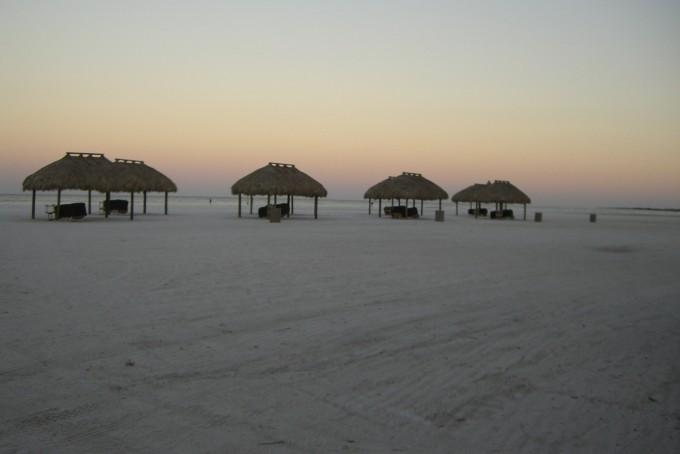 Lever du soleil à la plage de Marco Island