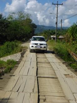 Fahrt zum Esquinas Rainforest Nationalpark