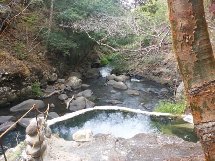 Hotspot Thermalwasser- Becken bei Rincón de la Vieja Nationalpark