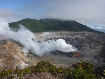 Vulkan Poàs Krater