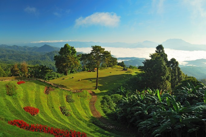 Der Huai Nam Dang Nationalpark in Chiang Mai