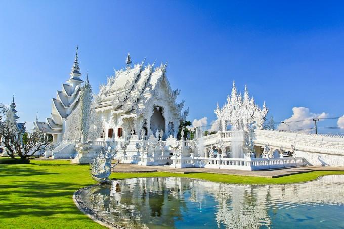 Der What Rong Khun in Chiang Rai