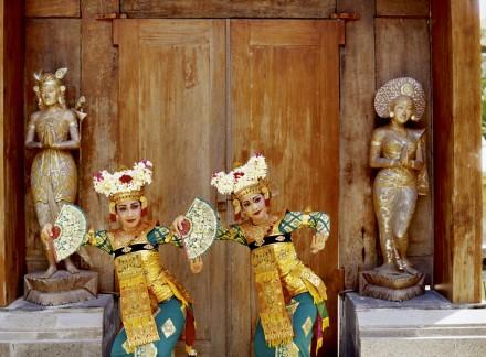 Danseuses traditionnelles de Bali
