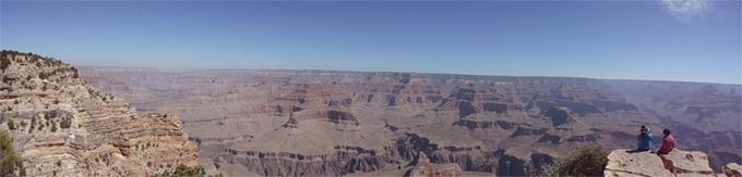 Aussicht im Grand Canyon