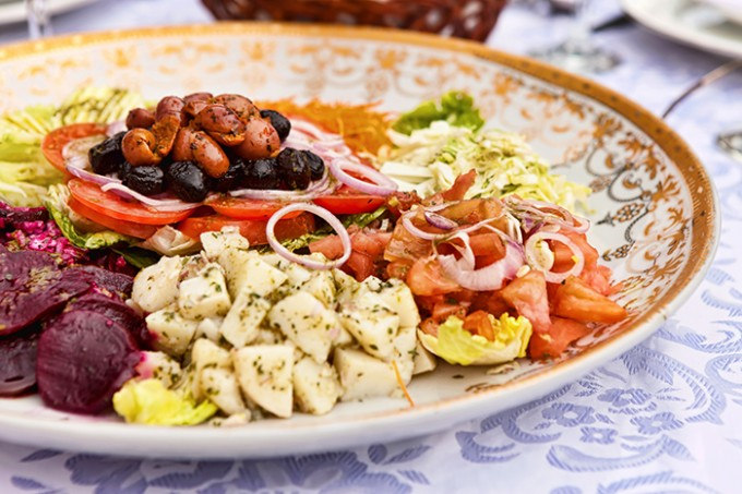 Marokkanische Salate