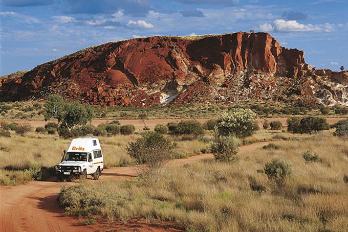 Mit dem Camper durch das australische Outback zum Ayers Rock