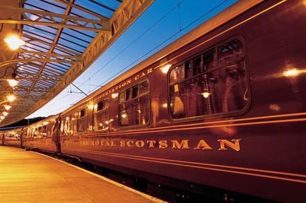 Der Luxuszug Royal Scotsman (Copyright: Simon Pielow @ flickr)