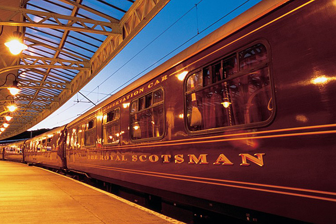 Bahnreisen in Schottland mit dem Royal Scotsman