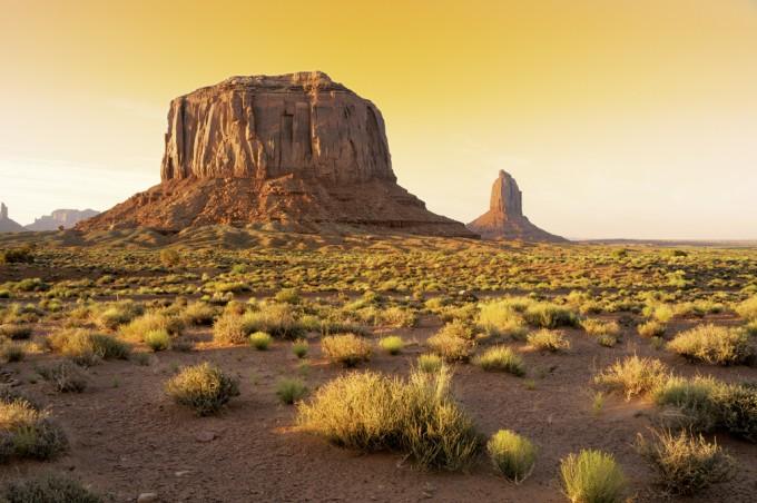 Wildwest-Kulisse Monument Valley, Utah