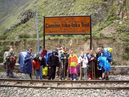 Start des Inca Trails