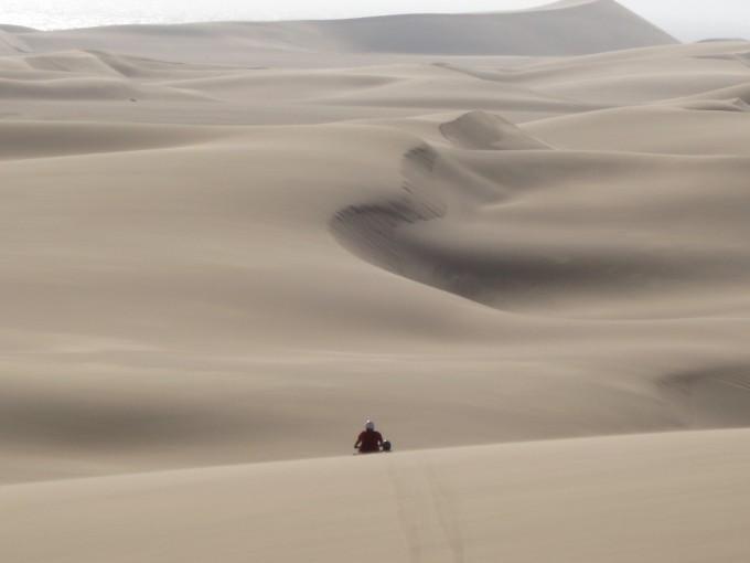 Mit dem Quad die Sanddünen hinauf