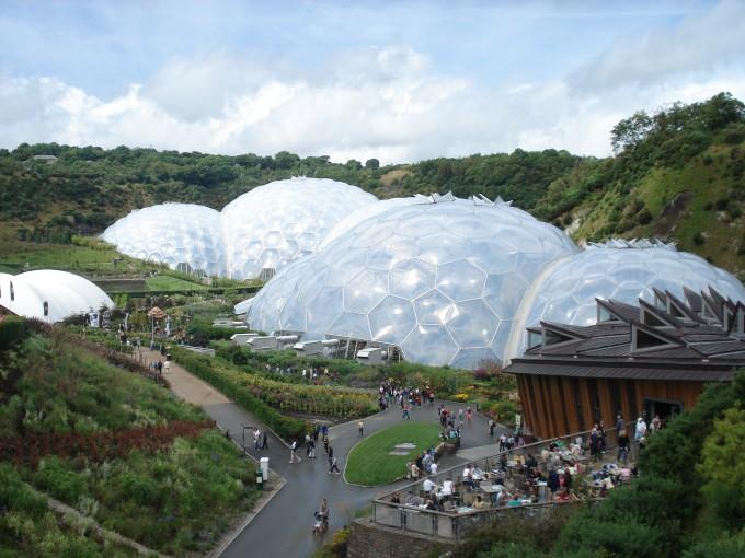 Eden Project bei Bodelva (Copyright: Marion O'Sullivan, mollyig @ Flickr)