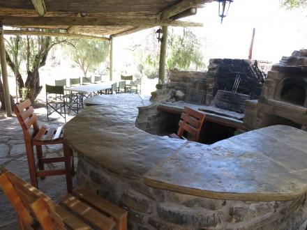 hier gibt es Abends BBQ und Outdoor Dining