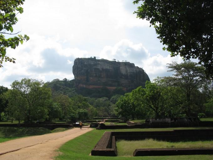 Sigiriya oder Löwenfelsen