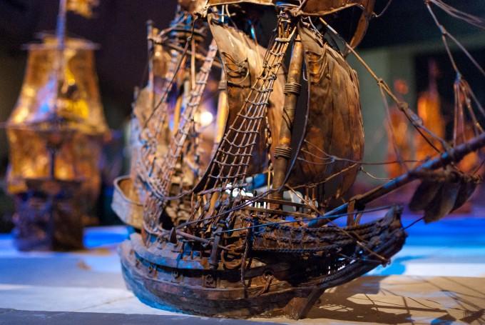 Eines der beeindruckenden Objekte im Vasa Museum Stockholm (Copyright: cb_agulto @ Flickr)