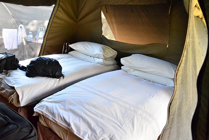Gemütliche Betten, um sich auszuruhen