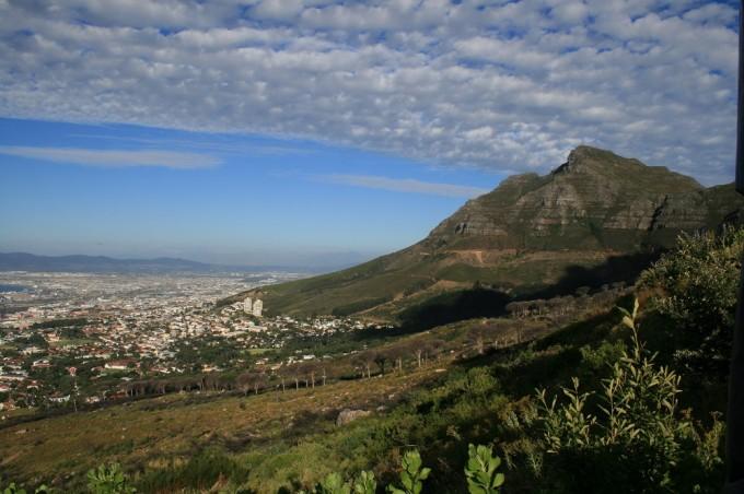 Aussicht vom Tafelberg
