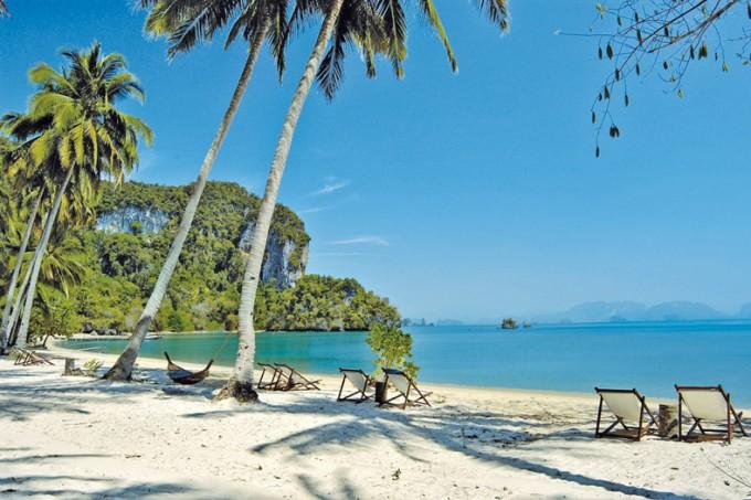 Strand vom Hotel The Paradise Koh Yao, Koh Yao Noi Island