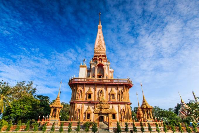 Tempel Wat Chalong, Phuket