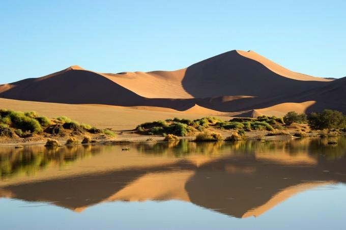 Sossusvlei-Wüste in Namibia