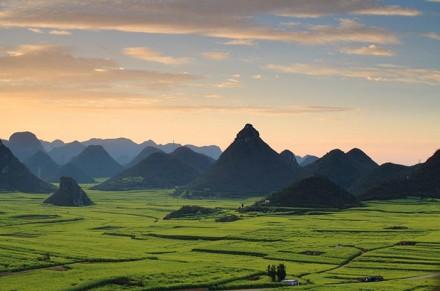Die atemberaubende Landschaft