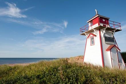 Der Leutturm von Prince Edward Island