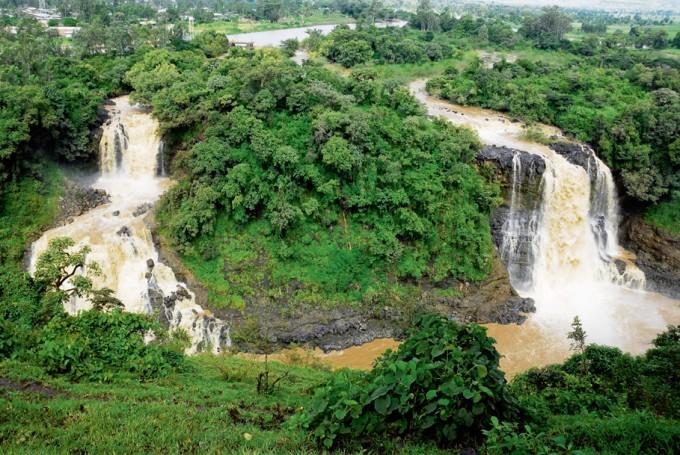 Eindrückliche Wasserfälle in Äthiopien