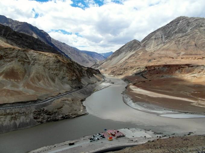 Zanskar und Indus Fluss