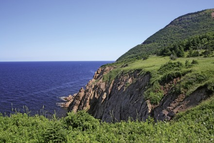 Die Küste vom Cape Breton Highlands Nationalpark