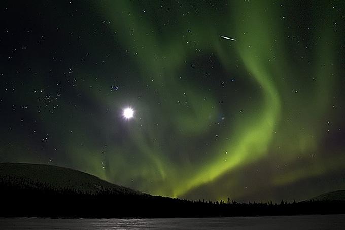 Nordlicht, von AV-Lappi wunderschön eingefangen (Copyright: AV-Lappi)