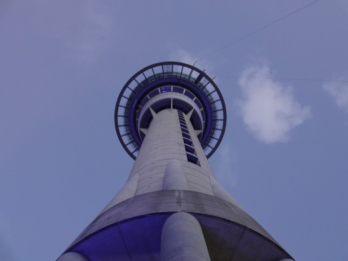 Der Skytower in Auckland