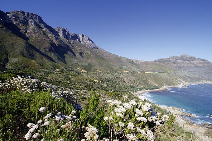 Küstenabschnitt auf der Garden Route in Südafrikas