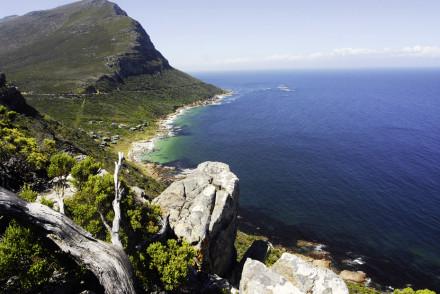 Ein Küstenabschnitt von Cape Town