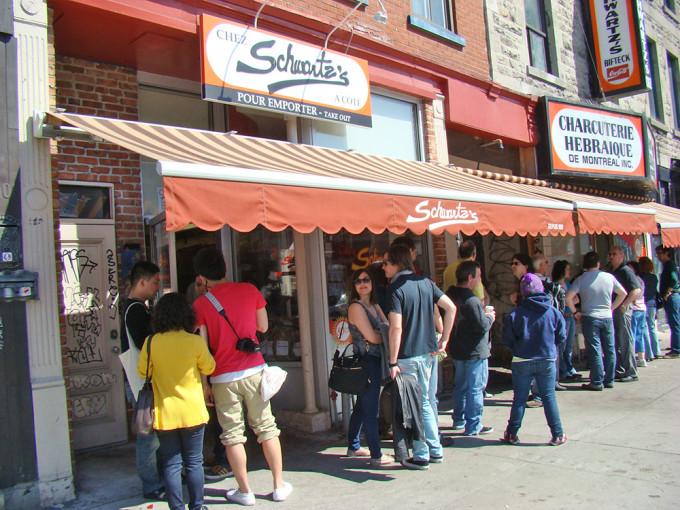 Das Restaurant Schwartz in Montréal (Copyright: montroyaler @ flickr)