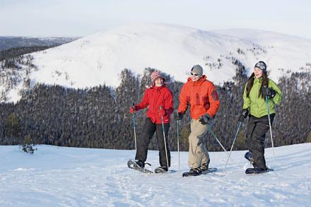 Warme Kleidung für einen Aufenthalt in Lappland einpacken