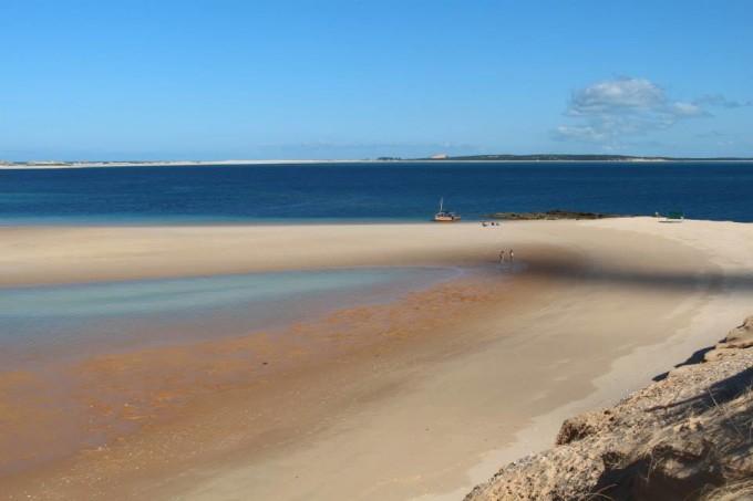 Traumhafte Strände in den Bazaruto Islands in Mosambik