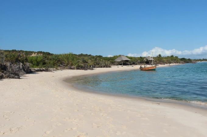 Sandstrand in Mosambik