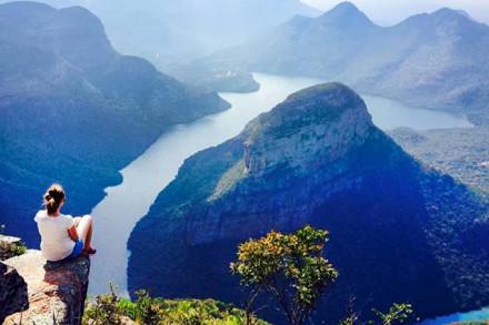 Sagenhafte Aussicht vom Blyde River Canyon