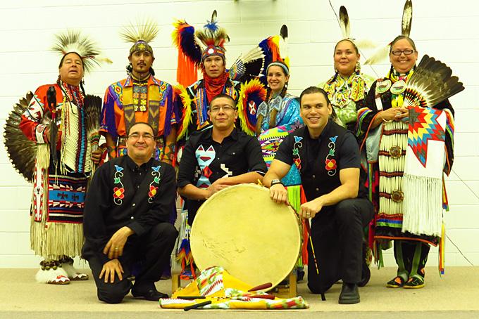 Die Pow-Wow Gruppe