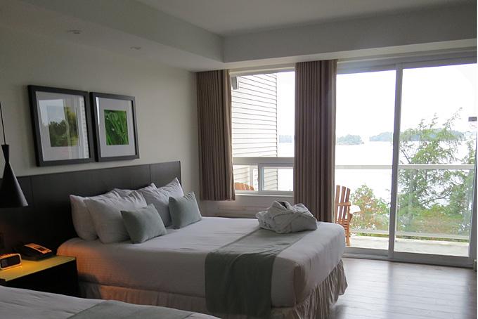 Zimmer im Taboo Resort mit Aussicht