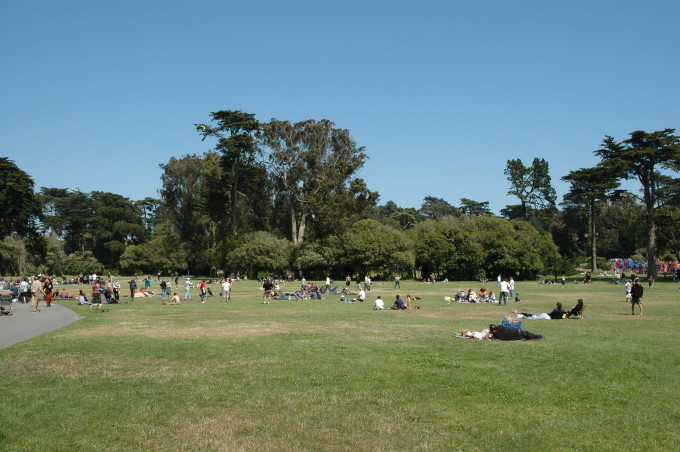 Der Golden Gate Park