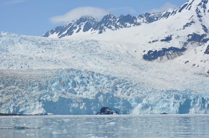 Aialik Gletscher im Kenai Fjords Nationalpark